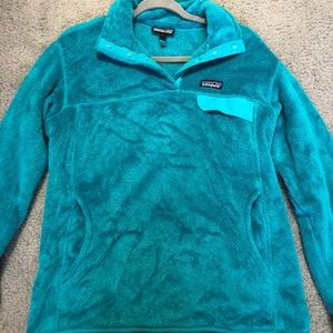 Patagonia Re-Tool Snap-T Womens Pullover (Teal)